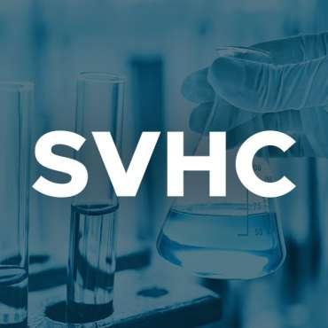Nuove sostanze aggiunte alla Candidate List SVHC