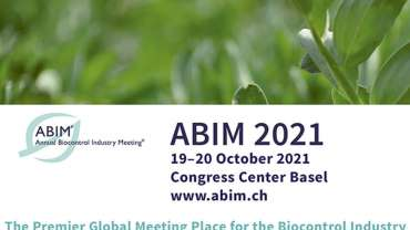 ABIM (2021): TEAM mastery will attend the Annual Biocontrol Industry Meeting